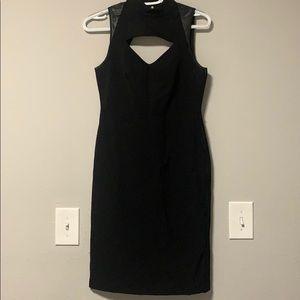 Ann Taylor Black Cut Out  Bodycon Dress